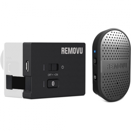 Removu M1+A1 BT - Microfon si Audio pack pentru GoPro, Bluetooth