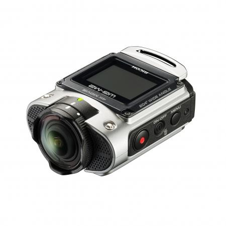 Ricoh WG-M2 - camera de actiune 4K argintie