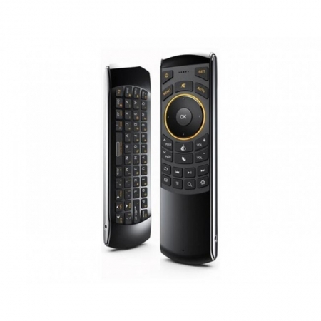 Rii RTMWK25 - Telecomanda IR universala Smart TV cu tastatura qwerty si Air mouse