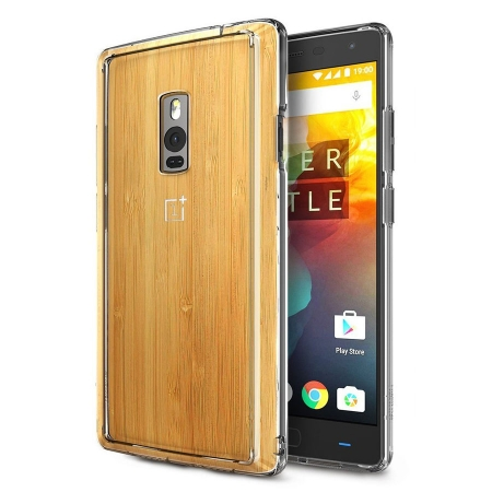 Ringke FUSION CRYSTAL VIEW TRANSPARENT Husa OnePlus 2 +BONUS folie protectie display Ringke