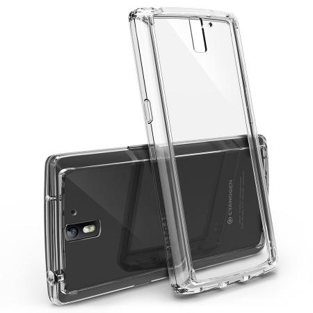 Ringke FUSION CRYSTAL VIEW TRANSPARENT Husa OnePlus One+BONUS folie protectie display Ringke