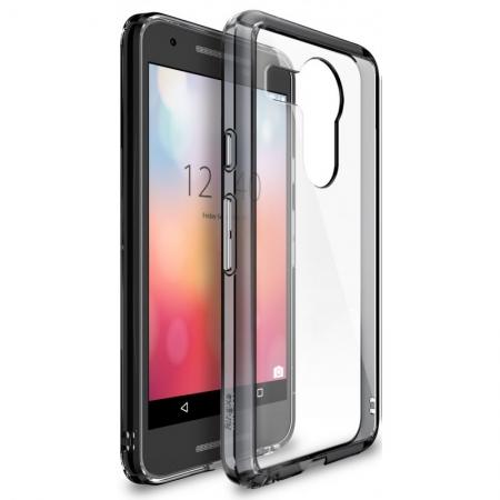 Ringke FUSION SMOKE BLACK Husa Google Nexus 5X 2015 + BONUS folie protectie display Ringke