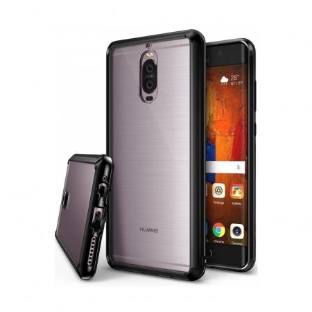 Ringke Fusion - Husa pentru Huawei Mate 9 Pro, Ink Black + Folie protectie ecran