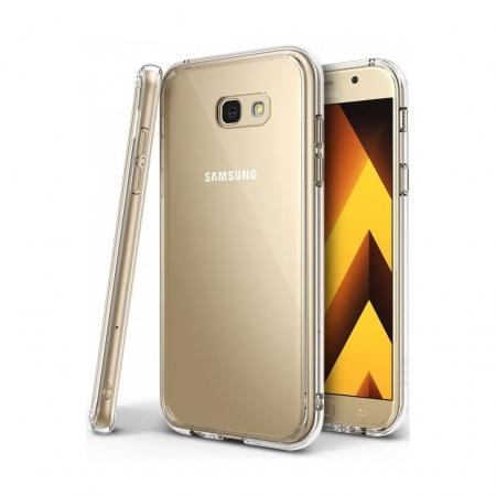 Ringke Fusion - Husa pentru Samsung Galaxy A3 (2017), Clear + Bonus Folie protectie ecran