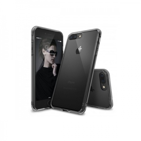 Ringke Fusion Husa pentru iPhone 7 Plus, Smoke Black
