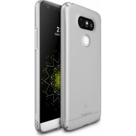 Ringke Husa Slim LG G5 + Folie protectie display, Gri