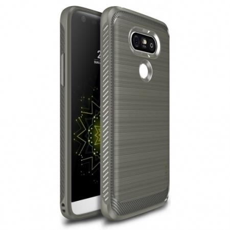 Ringke Husa eco onyx + folie pentru LG G5, mist grey