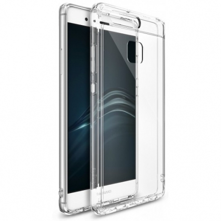 Ringke Husa eco fusion + Folie pentru Huawei P9, crystal view