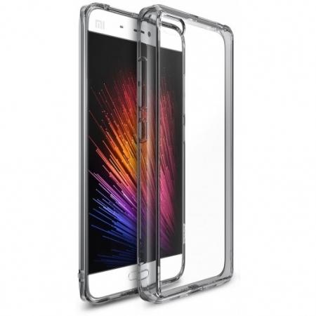 Ringke Husa eco fusion + Folie pentru Xiaomi Mi 5, smoke black