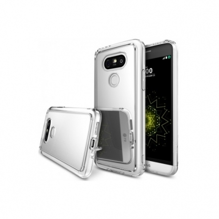 Ringke Husa eco mirror + folie pentru LG G5, silver