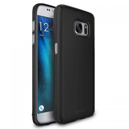 Ringke Husa eco slim + folie Galaxy S7 - negru