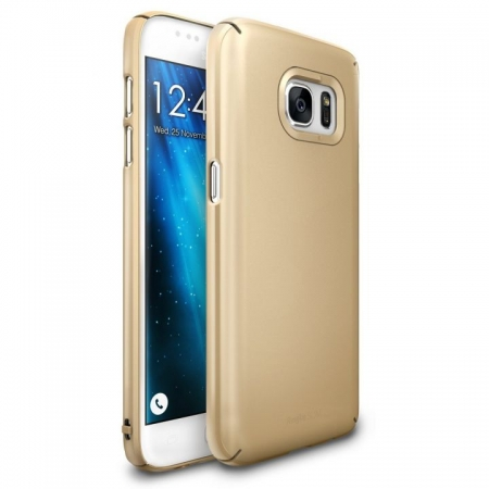Ringke Husa eco slim + folie Galaxy S7 - royal gold