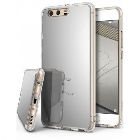 Ringke Mirror - Husa pentru Huawei P10, Silver + Folie protectie ecran
