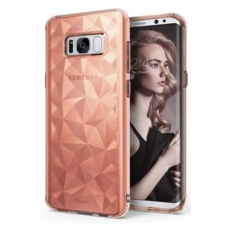 Ringke Prism - Husa pentru Samsung Galaxy S8, Rose Gold