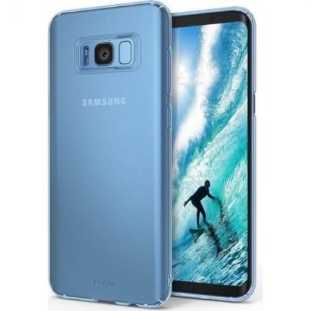 Ringke Slim Husa pentru Samsung Galaxy S8 Plus, Frost Blue