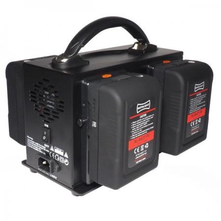 Rotolight 4 Channel - Incarcator V-Lock