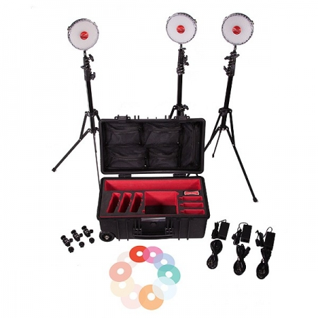 Rotolight Kit 3 lumini Neo