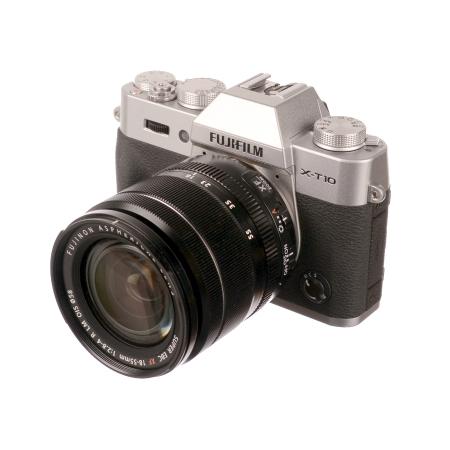 SH Fujifilm X-T10 Silver + 18-55mm f/2.8-4 OIS  SH125030750