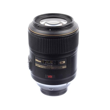 SH Nikon AF-S VR Micro-Nikkor 105mm f/2.8G IF-ED - SH 125036775