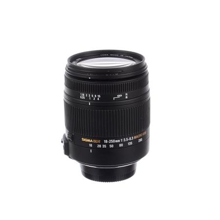 SH Sigma 18-250mm f/3.5-6.3 Macro OS - Nikon - SH 125031680
