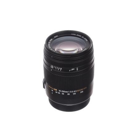 SH Sigma 18-250mm f/3.5-6.3 Macro OS - pt Canon - SH 125029933