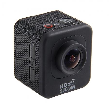SJCAM Mini M10 - Camera video sport, carcasa subacvatica, Negru