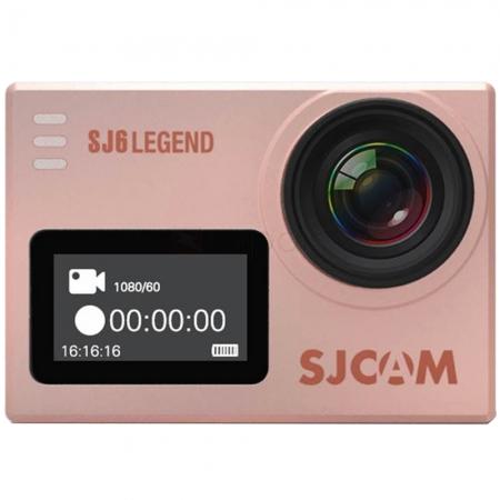 SJCAM SJ6CAM Legend - Camera sport, 4K, 16MP, Auriu