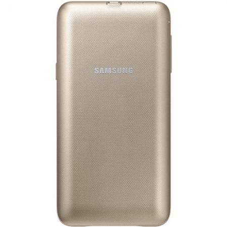 Samsung - Baterie Externa + Husa 3400mAh pentru Galaxy Note 5, Auriu