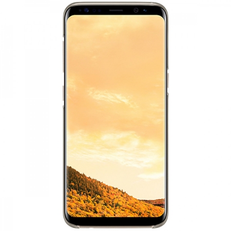 Samsung Clear Cover - Capac protectie spate pentru Galaxy S8 (G950) - Auriu