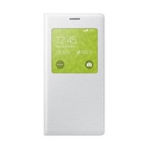 Samsung EF-CG800 - Husa de protectie tip S-View pentru Galaxy S5 Mini - alb