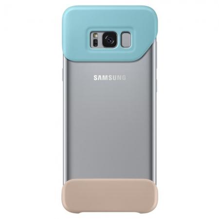 Samsung EF-MG950 - Husa Bumper 2 Piese Samsung Galaxy S8 Plus - Verde