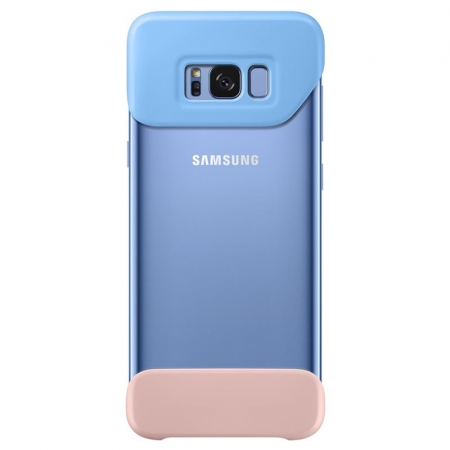 Samsung EF-MG955 - Husa Bumper 2 Piese Samsung Galaxy S8 Plus - Albastru