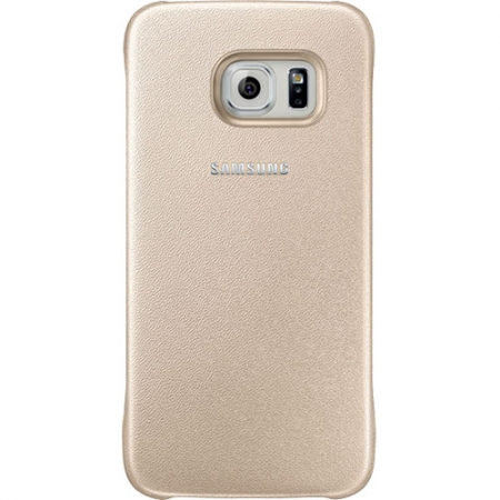 Samsung EF-YG920BG - Husa Capac spate pentru Samsung Galaxy S6 - auriu