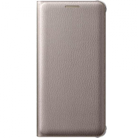 Samsung Flip Wallet - Husa pentru Samsung Galaxy A5 (2016), Auriu