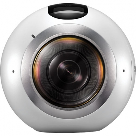 Samsung Gear 360 - Camera Video Si Foto, VR, Splashproof - Alb