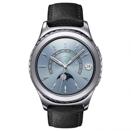 Samsung Gear S2 R7320 Classic Platinum - smartwatch - RS125035428