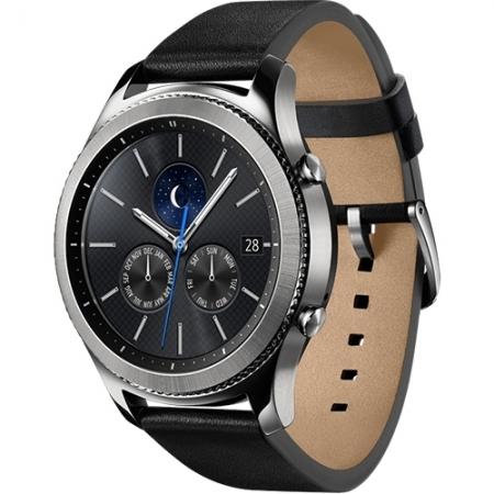 Samsung Gear S3 Classic - Smartwatch, Curea din piele, Negru
