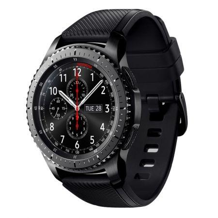 Samsung Gear S3 Frontier SM-R760 - Smartwatch, bratara activa, silicon - Negru