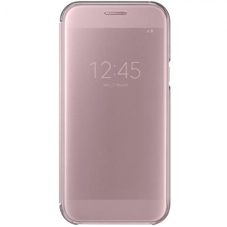 Samsung Husa Agenda Clear View Samsung Galaxy A5 2017, Roz