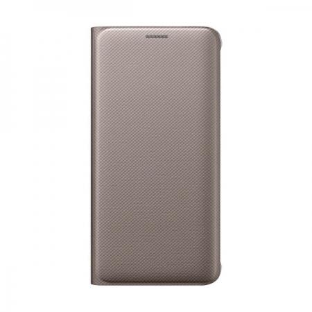 Samsung - Husa Flip Wallet Samsung Galaxy S6 Edge Plus G928 - auriu
