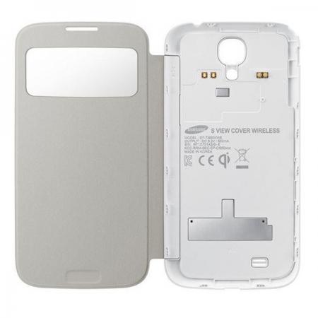 Samsung Husa protectie tip Book EF-TI950 pentru i9505 Galaxy S4 - alb