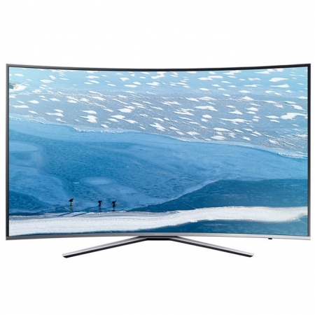 Samsung 55KU6502 - Televizor LED Curbat Smart, 138 cm, 4K Ultra HD