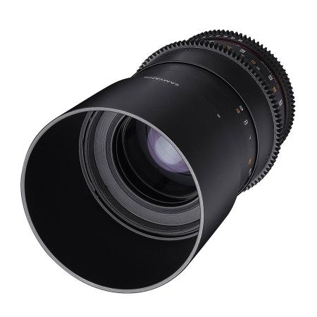 Samyang 100mm T3.1 Macro 1:1 VDSLR - montura Canon