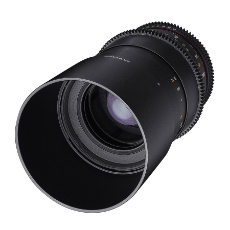 Samyang 100mm T3.1 Macro 1:1 VDSLR - montura Nikon
