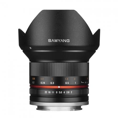 Samyang 12mm 2.0 NCS CS - montura Canon EF-M