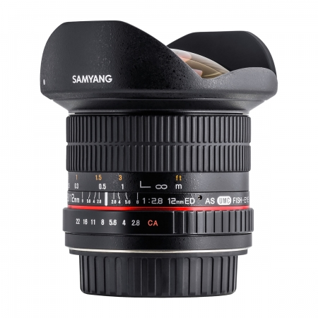 Samyang 12mm F2.8 ED AS NCS Fisheye Canon