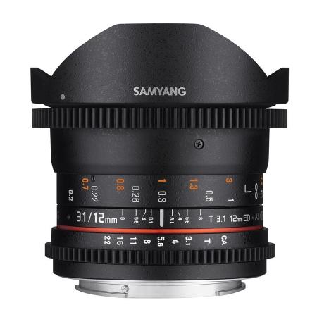 Samyang 12mm T3.1 VDSLR Nikon