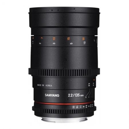 Samyang 135mm T2.2 ED UMC VDSLR- Canon