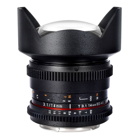 Samyang 14mm T3.1 ED AS IF UMC II - Cine Lens Canon