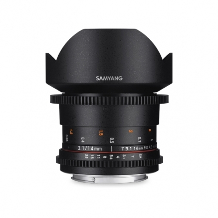 Samyang 14mm T3.1 VDSLR ED AS IF UMC II - Micro 4/3